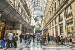 Galleria Umberto, Naples city Royalty Free Stock Image