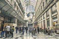 Galleria Umberto, Naples city Royalty Free Stock Photography