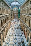 Galleria Umberto, Naples, Italy Stock Photo