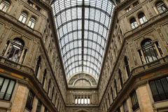 Galleria Umberto Primo in Naples Royalty Free Stock Photo