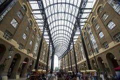 Galleria van het hooi binnen royalty-vrije stock foto's