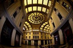 Galleria Vitorio Emanuele ΙΙΙ στο Μεσσήνη, Ιταλία Στοκ φωτογραφία με δικαίωμα ελεύθερης χρήσης