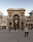 Galleria Vittoria Emanuele II Royalty Free Stock Images