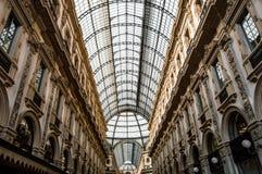 Galleria Vittoria Emmanuelle ii Imagen de archivo libre de regalías