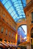 Galleria Vittorio à Milan image stock