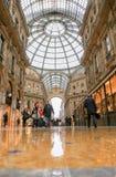 Galleria Vittorio, Μιλάνο Στοκ εικόνα με δικαίωμα ελεύθερης χρήσης