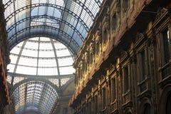 Galleria Vittorio Emanuele à Milan image stock