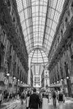 Galleria Vittorio Emanuele ΙΙ - Μιλάνο στοκ εικόνα