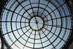 Galleria Vittorio Emanuele ΙΙ στοκ εικόνα
