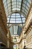 Galleria Vittorio Emanuele ΙΙ Στοκ Φωτογραφία