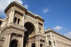 Galleria Vittorio Emanuele Royalty Free Stock Photos