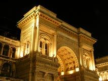 Galleria Vittorio Emanuele 2 Fotografia Stock