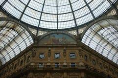 Galleria Vittorio Emanuele Royalty-vrije Stock Afbeelding