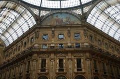 Galleria Vittorio Emanuele Royalty-vrije Stock Foto's