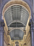 Galleria Vittorio Emanuele. This is a detail of the Galleria Vittorio Emanuele in Milan Stock Image