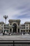 Galleria Vittorio Emanuele Foto de Stock