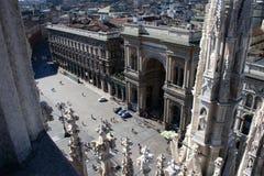 Galleria Vittorio Emanuele Royalty Free Stock Photo