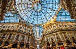 Galleria Vittorio Emanuele Fotografia Stock Libera da Diritti