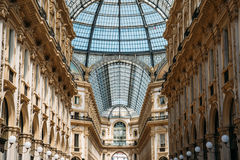Galleria Vittorio Emanuele Photo stock