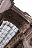 Galleria Vittorio Emanuele II à Milan Image libre de droits