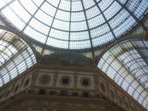 Galleria Vittorio Emanuele II, Милан Стоковое Изображение RF