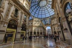 Galleria Vittorio Emanuele II zdjęcie royalty free