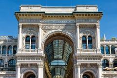 Galleria Vittorio Emanuele II royalty-vrije stock afbeeldingen