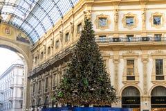 Galleria Vittorio Emanuele II Foto de archivo libre de regalías