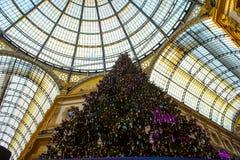 Galleria Vittorio Emanuele II Imagen de archivo libre de regalías
