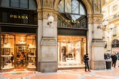 Galleria Vittorio Emanuele II Imágenes de archivo libres de regalías