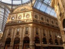Galleria Vittorio Emanuele II obrazy stock