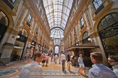 Galleria Vittorio Emanuele II fotos de archivo libres de regalías