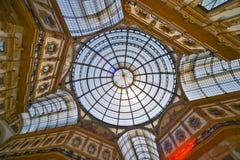 Galleria Vittorio Emanuele II imagen de archivo