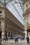 Galleria Vittorio Emanuele II Stock Afbeeldingen
