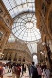 Galleria Vittorio Emanuele II Royalty-vrije Stock Afbeelding