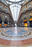 Galleria Vittorio Emanuele II Royalty Free Stock Image
