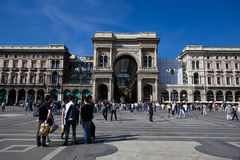 Galleria Vittorio Emanuele II Royalty-vrije Stock Foto