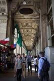 Galleria Vittorio Emanuele II Royalty-vrije Stock Foto's