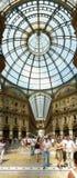 Galleria Vittorio Emanuele II Stock Image