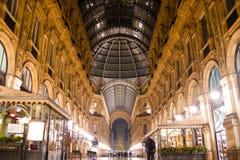 Galleria Vittorio Emanuele II Stock Photography
