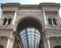 Galleria Vittorio Emanuele II Stockfotos