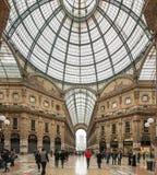 Galleria Vittorio Emanuele II Zdjęcia Royalty Free