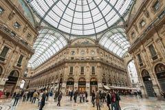 Galleria Vittorio Emanuele II Obrazy Royalty Free