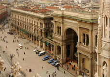 The Galleria Vittorio Emanuele II Royalty Free Stock Images