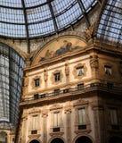 Galleria Vittorio Emanuele II Stockfoto