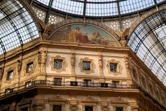 Galleria Vittorio Emanuele II Lizenzfreie Stockfotografie