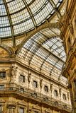 Galleria Vittorio Emanuele II royalty free stock photography