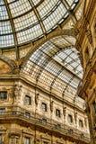 Galleria Vittorio Emanuele II Fotografia Stock Libera da Diritti