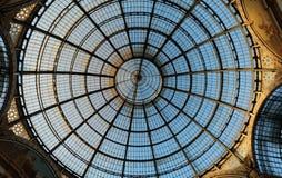 Galleria Vittorio Emanuele II стоковые изображения