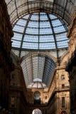 Galleria Vittorio Emanuele II Fotografia de Stock